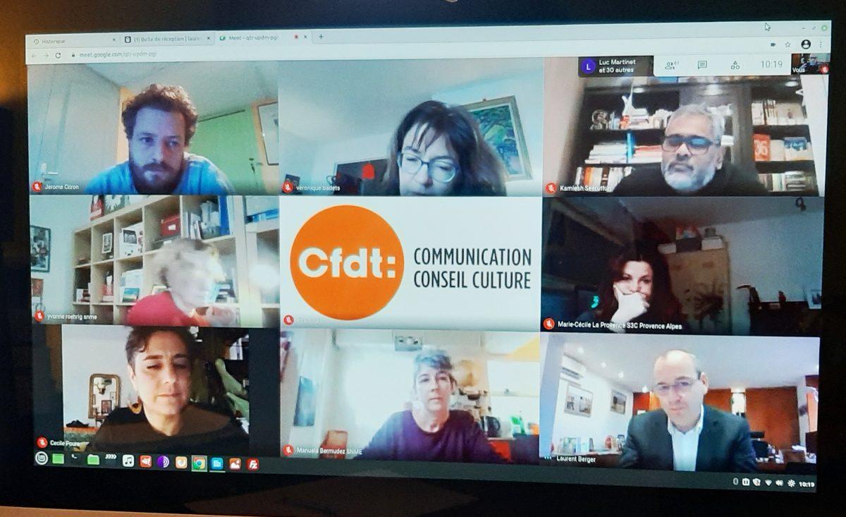 Avec CFDT journalistes pour relever les défis