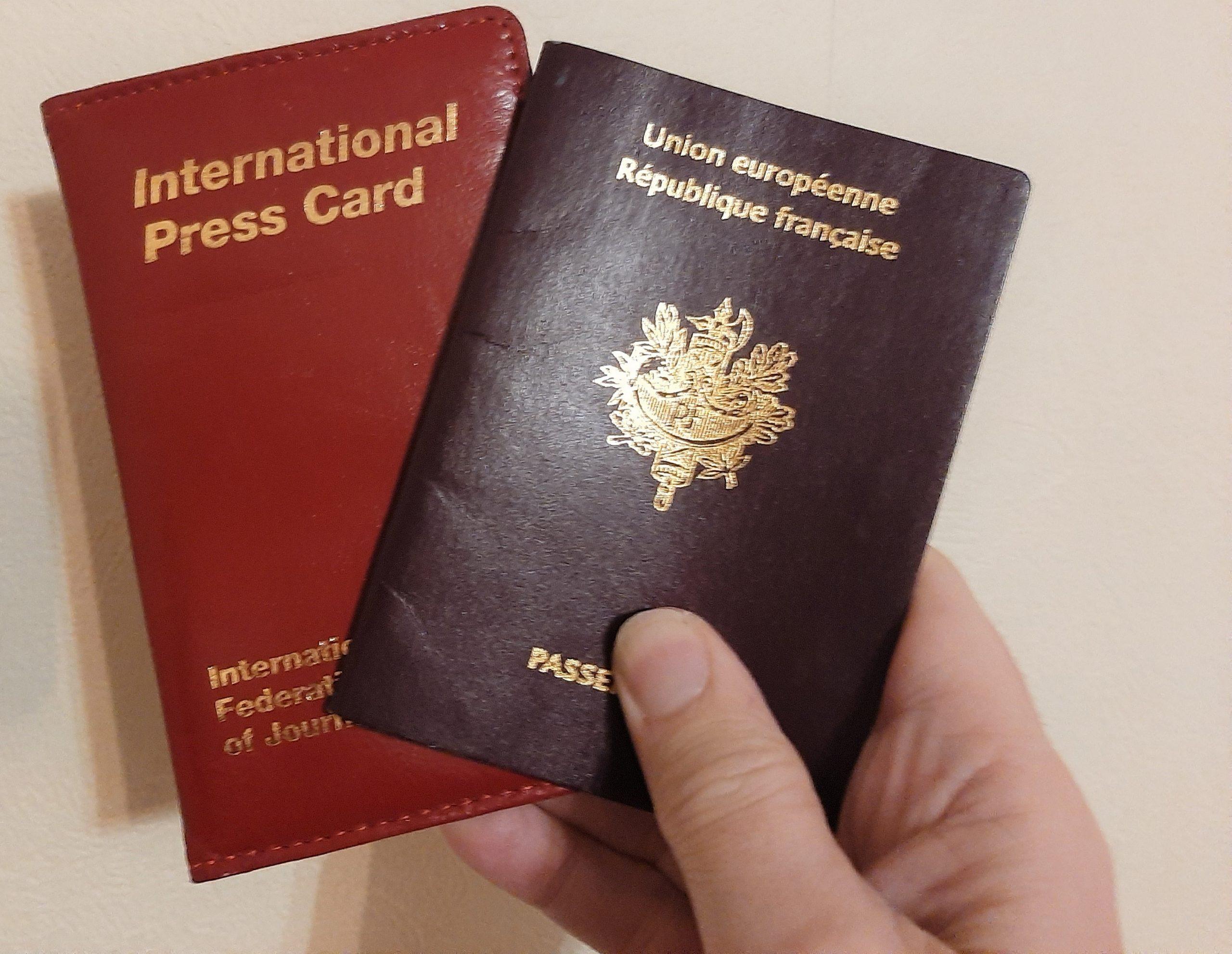 Reportages en Grande-Bretagne: l'ambassade ne reconnaît pas la carte de presse française