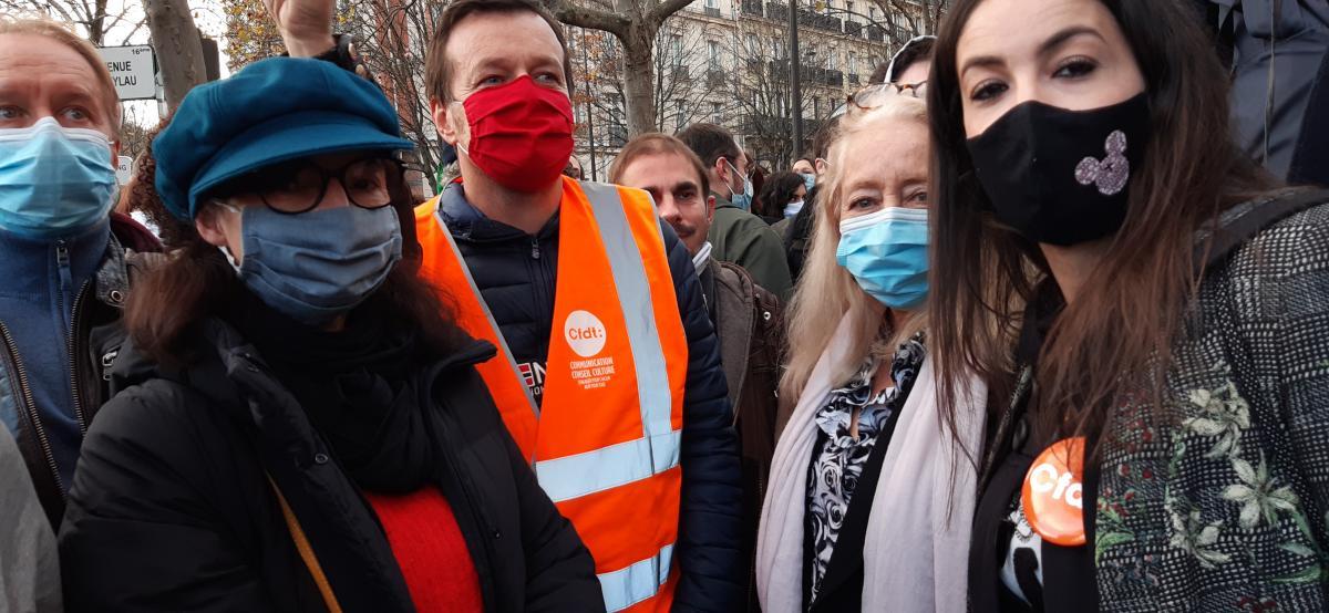 Samedi de forte mobilisation contre la loi sécurité globale