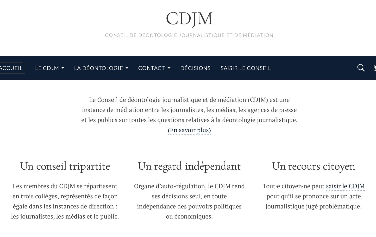 Conseil de déontologie : un espace de dialogue unique, soutenu par la CFDT-journalistes