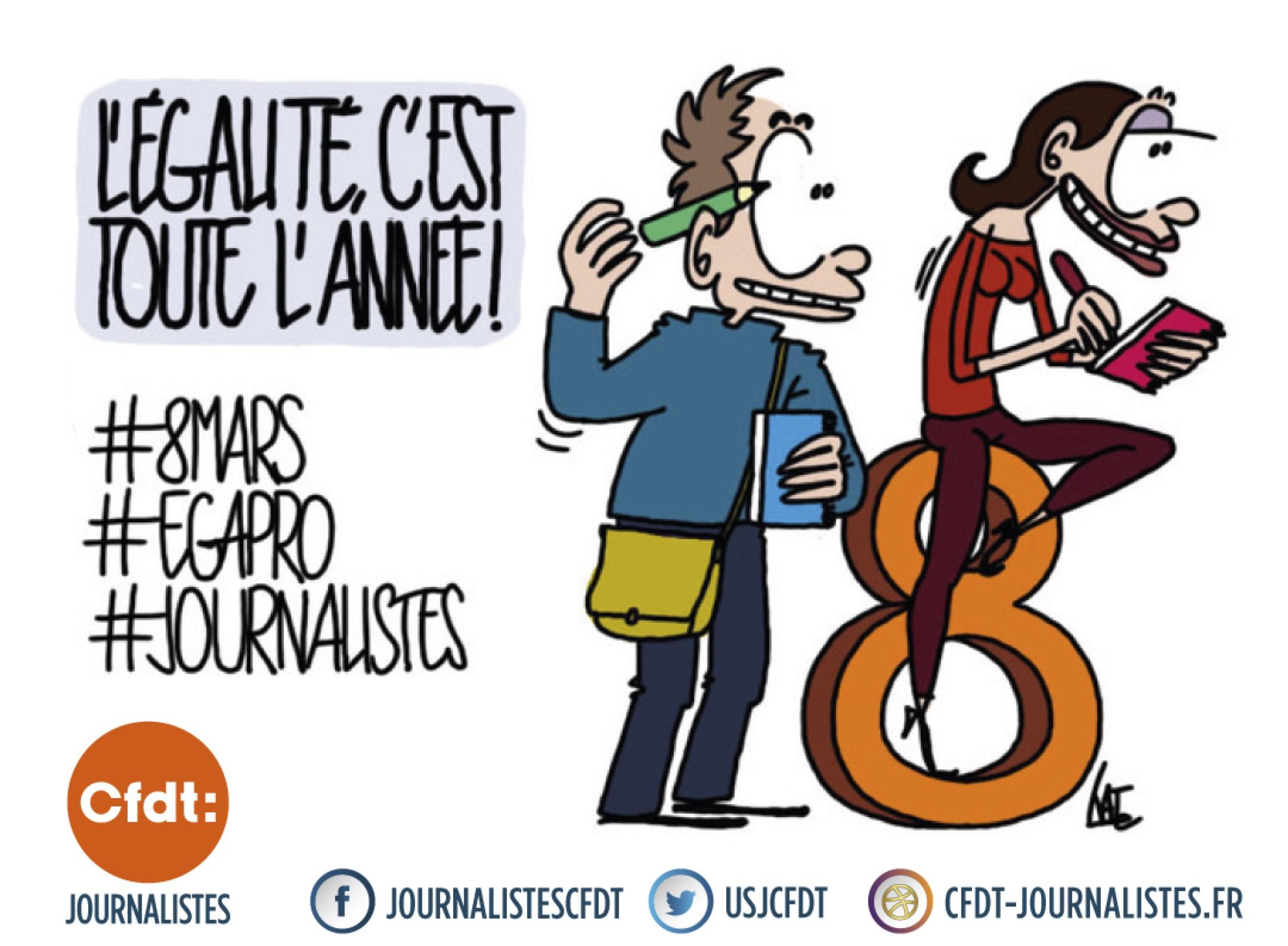 Egalité salariale femmes-hommes : participez à l'enquête de la Fédération internationale des journalistes !