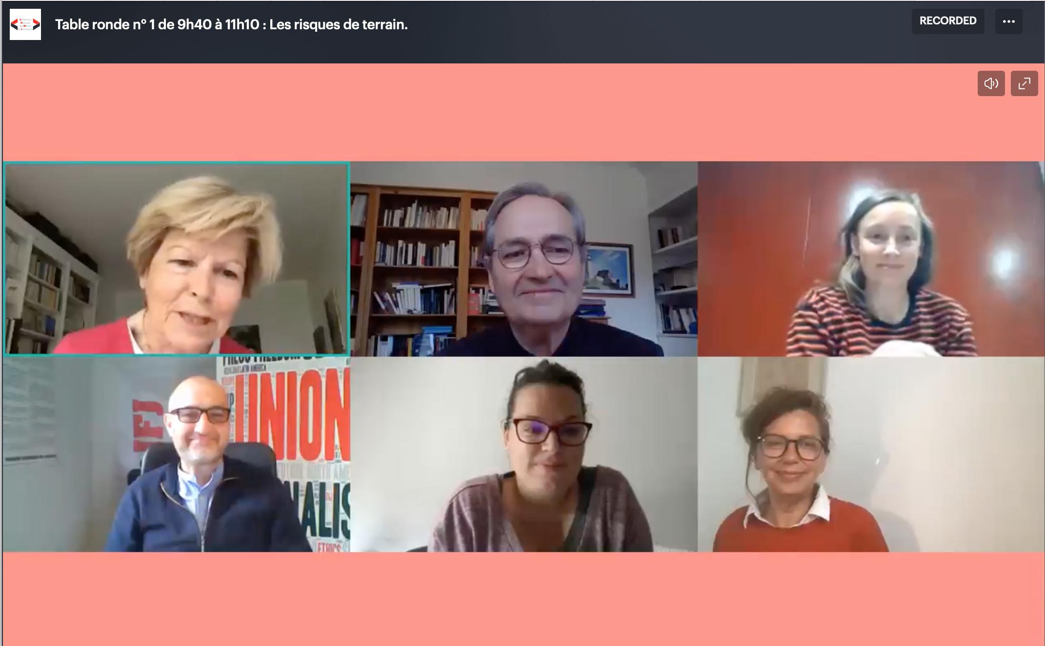 Risques du journalisme: 5 raisons de revoir la CNMJ 2021