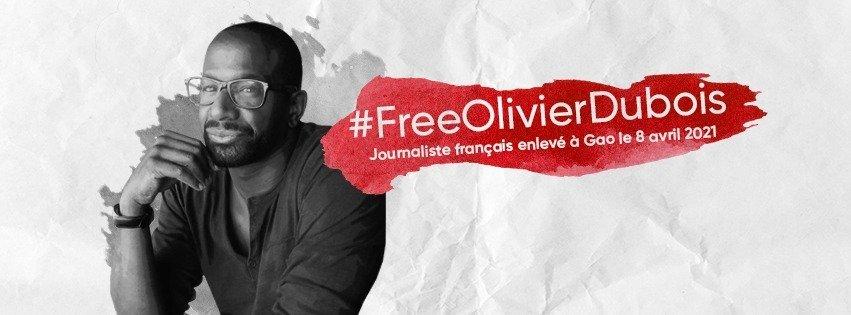 76 jours de captivité pour Olivier Dubois.    Nous n'oublions pas notre confrère