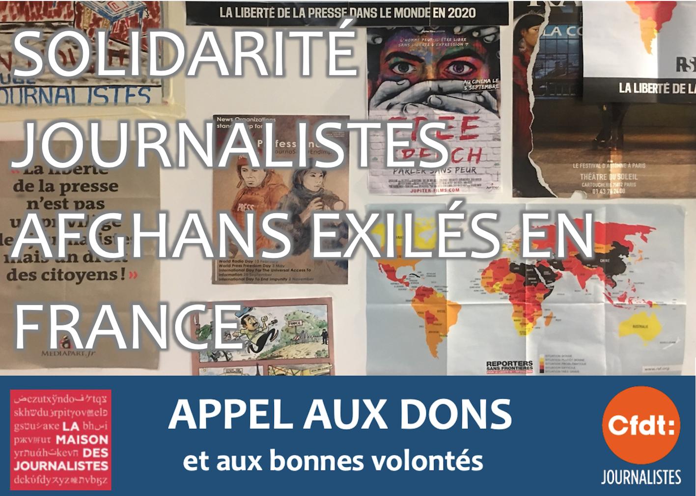 Logement, soutiens bénévoles : voilà comment nous, journalistes, pouvons concrètement aider les journalistes afghans exilés en France