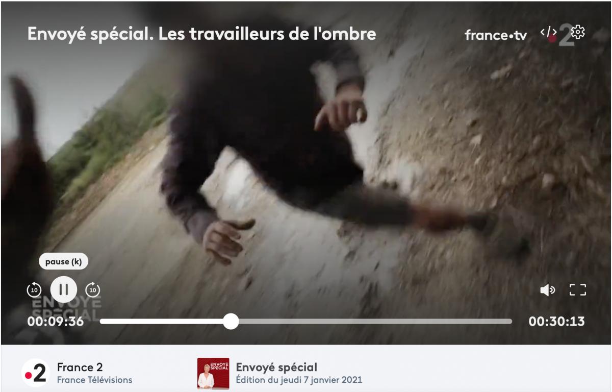 L'exploitant agricole ayant agressé des journalistes d'Envoyé Spécial devant le tribunal de police